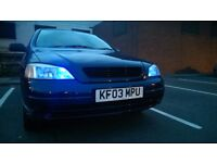 VAUXHALL ASTRA 1.6 for sale or SWAP wee car