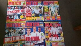 football magazines and books