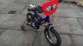 Raleigh Micro kids bike with stabilisers suit 3-4 yrs