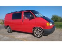 VW T4 1999 1.9td Campervan, 188k, RnR bed, swivel and captains seats, twin sunroof