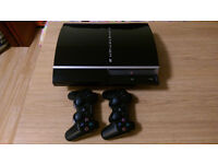 Ps3 80GB. Good condition and 15 Games bundle. 2 Controls.