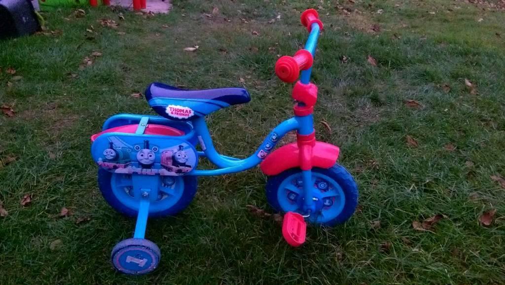 Thomas the tank toddler Bike