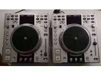 2 x Denon S3500 DJ CD decks with scratching, effects, loop & sampler
