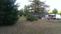 One acre lot for sale, great fishing & hunting