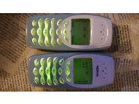Two Nokia 3410 UNLOCKED in Perfect Working Order each for £20 both for £35 NO OFFERS