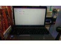 Toshiba L870-172 core i3 4gb 320gb HD 17 inch laptop