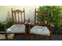 Arts and craft chairs