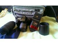 Film camera and accessories