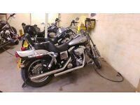Harley Davidson Motorbike - FXDWG 2003 Anniversary Model