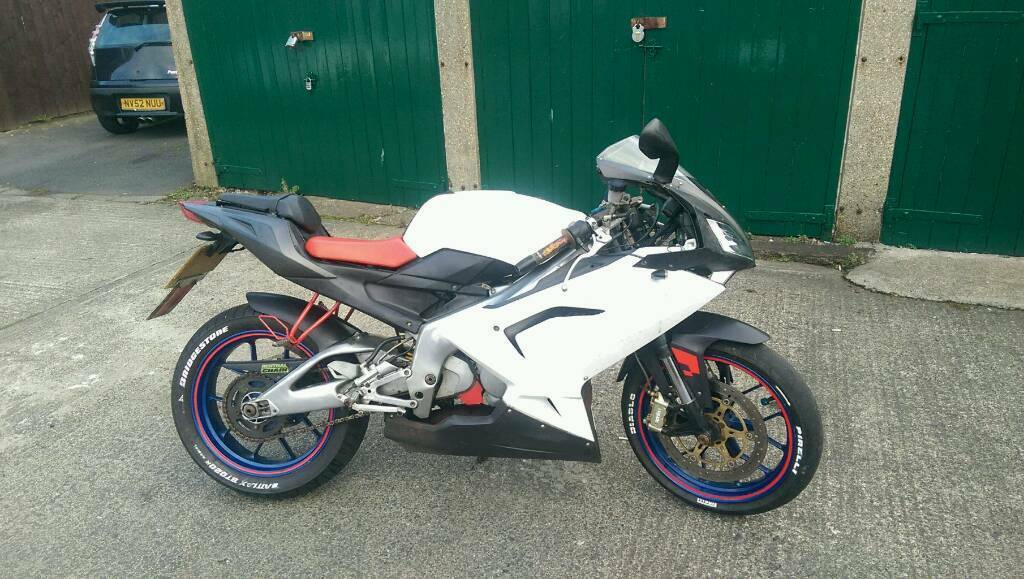 Aprilia rs 125 full power (motocross bike swap)