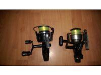 2 Shimano baitcasters