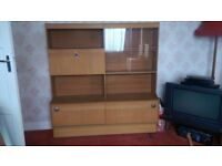 Free to Collector Display Cabinet with Glass Doors