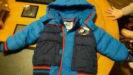 Thomas Tank Engine boys coat