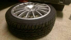 OZ super t alloy wheels set of 4