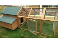Chicken coop and run for 4 + chickens