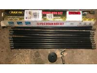 Max Pro 10 piece drain rod set (Stockport SK6 8AH)
