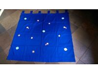 NEXT CHILDREN'S CURTAINS: TWO PAIRS LOVELY CHILDREN'S CURTAINS (100% COTTON) TAB TOPS MACHINE WASH