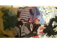 Bundle clothes boy 0-3 mth