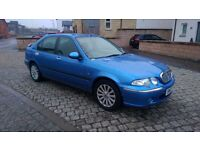 Rover 45 1.4 Impression Hatchback 1yr MOT Alloys Leather