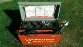 Cost £1600: Rothenberger Rofrost Turbo Pipe Freezer: 240V