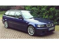 EXTREMELY RARE BMW E46 325 TOURING ONLY 82K WITH CHAMPAGNE LEATHER 3 SERIES BMW SIMILAR AUDI A4 330