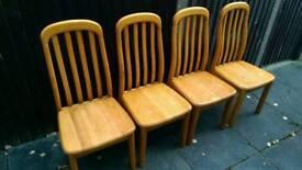 4 beach dining chairs