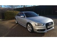 Audi A4 2.0TDI quattro S-line S-tronic 2014 silver 177PS + spare set of tyres + Asset protection