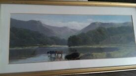 Two original oil paintings by the artist John Henry Gbb