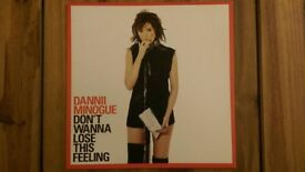 Dannii Minogue 'Don't Wanna Lose This Feeling' 12 inch Vinyl Single