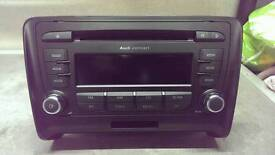 AUDI tt/A3 CONCERT CD PLAYER - MP3 - WITH CODE