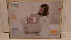 Wooden Dolls Cradle (brand new) = £12