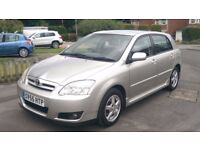 2005/55 Toyota Corolla 2.0 d4d Colour Collection 5 Door - REDUCED BY £495 - FSH inc Cambelt.
