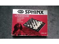 Sphinx Junior 64 level chess computers ,paypal accept