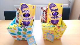 Easter basket, with plenty of Chocolate.