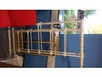 Iron double bed frame