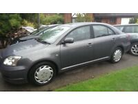 2003 TOYOTA AVENSIS HATCHBACK - PETROL- AUTOMATIC - MOT TO AUGUST 2019
