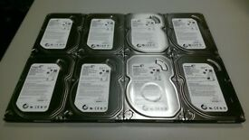 Seagate 500GB SATA 3.5 Inch Desktop Hard Drives, Fully Tested and Wiped Clean