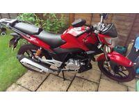 Lexmoto 125cc 2013 red