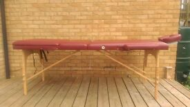 Massage Table for sale - used only few times - no space so have to sell