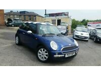 2002 51 MINI ONE 1.6 3 DOOR HATCHBACK 5 SPEED MANUAL