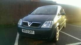 2004 Vauxhall Meriva 1.6 8v