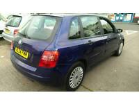 2004 FIAT STILO 1.4 6 SPEED eg Ford fiesta Renault clio megane vw polo ka
