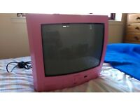 "Pink 14"" TV / DVD player"