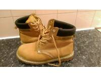 GROUNDWORK WORKER BOOTS .size9
