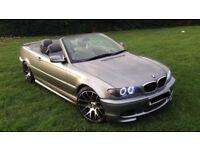 LAST PRICE £3350 BMW 318CI M SPORT CONVERTIBLE E46 2004 * E36 M3 E92 E90 330D 325 320 AUDI S3 AMG *