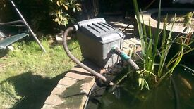 Blagdon 6000 filter box with UV for sale £40.
