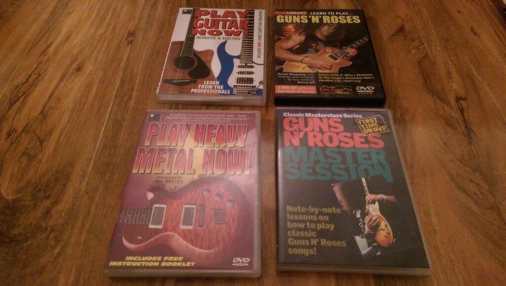 Guitar accessories music books tuner DVDs etc