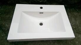 Sink for vanity unit