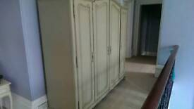 French style reproduction wardrobe £150