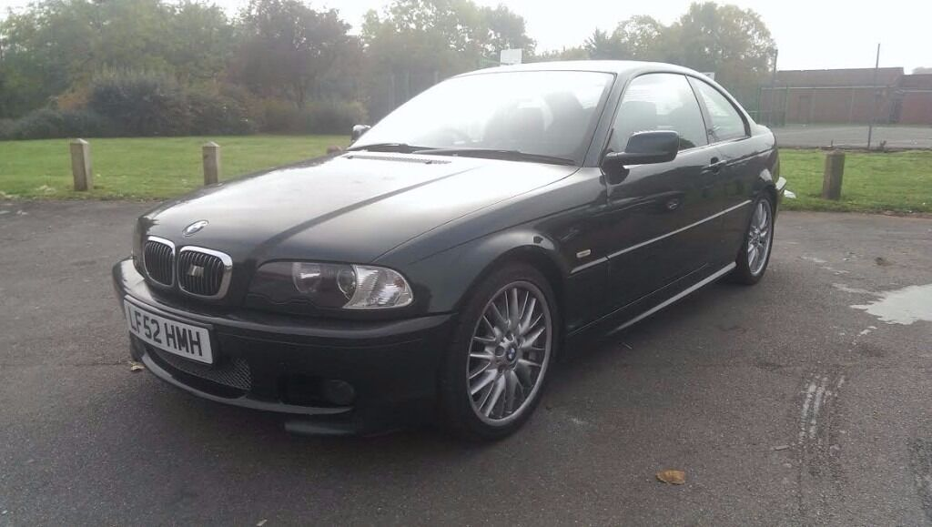2002/52 BMW 330i M-Sport Coupe, green, low miles, FSH, manual, New MOT, Nice example